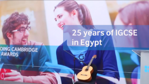 25 Years of IGCSE in Egypt