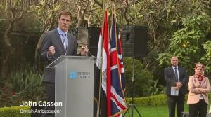 John Casson, the British Ambassador  (Image Credit: British Council)